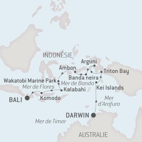 Ponant Austral, 11.09.17 de Darwin à Bali