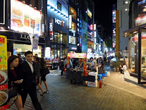Vie nocturne, Corée du Sud