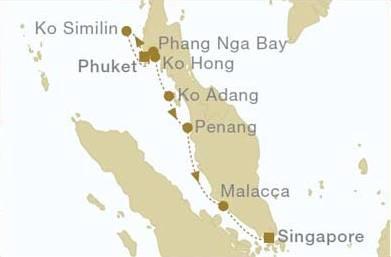 Phuket - Singapore