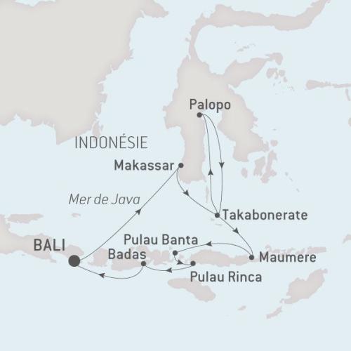 Ponant Austral, 22.09.17 Indonesie