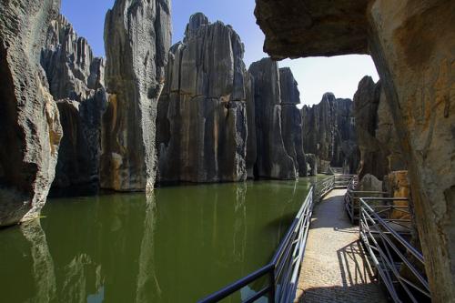 Forêt de pierre, Kunming, Yunnan, Chine