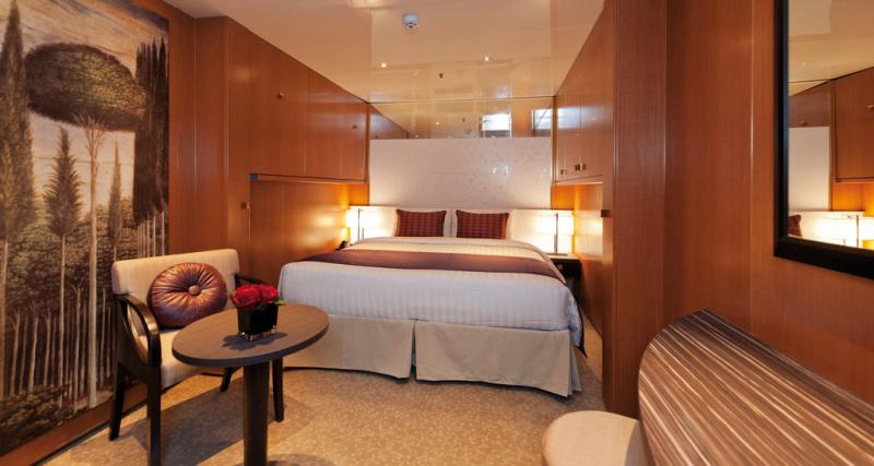 Costa neoRomantica cabine intérieure