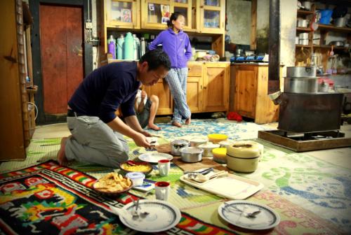 Diner chez l'habitant, Bumthang