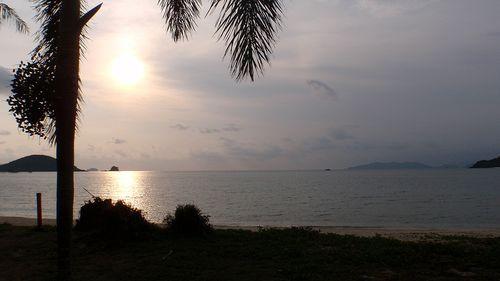 Couché de soleil Koh Mak