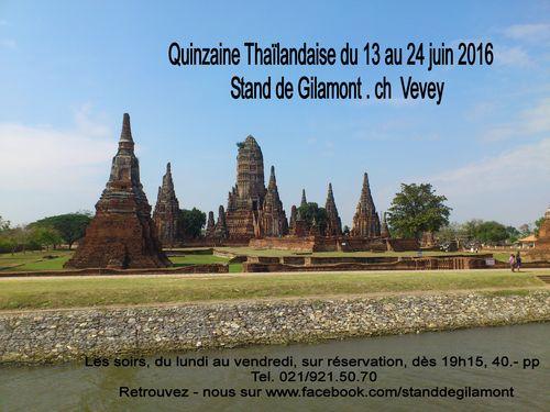 Quinzaine Thaïlandaise 2016