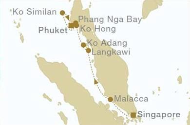 Singapore - Phuket