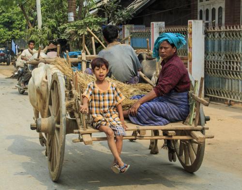 Birmanie, famille