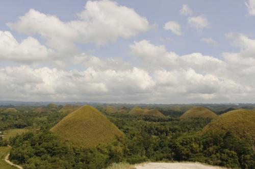 Bohol, collines de chocolat