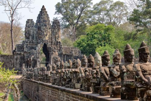 Cambodge, Angkor-thom