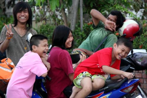 Famille, Thaïlande