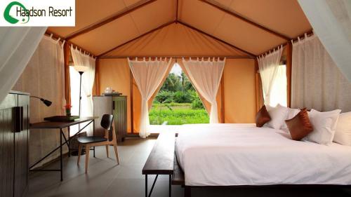 Haadson Resort  tente intérieur