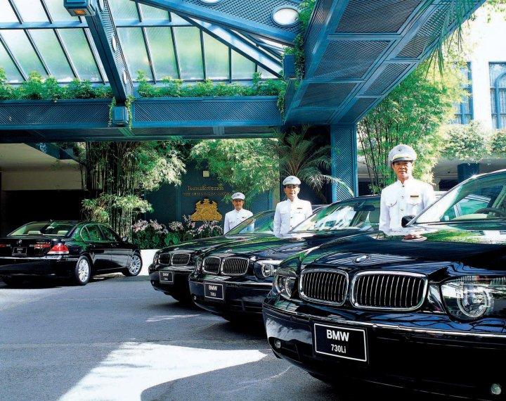 Mandarin Oriental limousines
