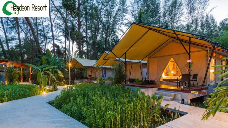 Haadson Resort  tente extérieur