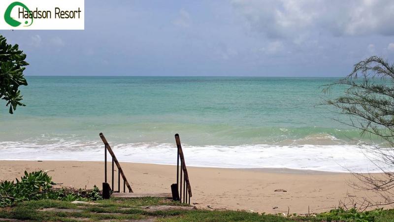 Haadson Resort  plage