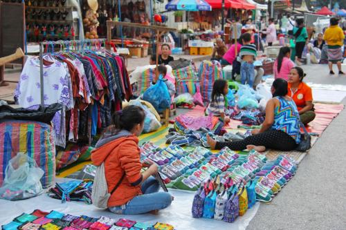 Marché, Luang Prabang