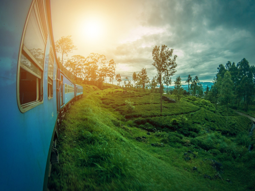Ella, train, Sri Lanka