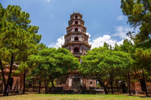 Hué, pagode Thien Mu