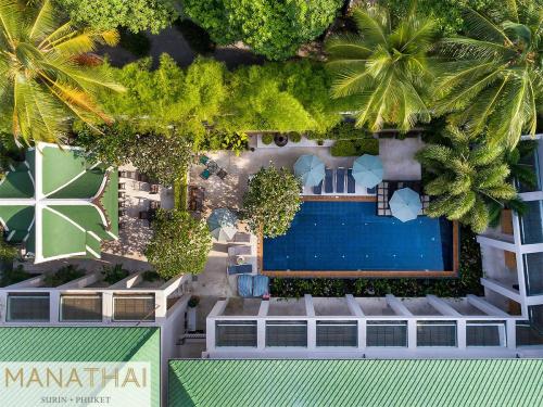 Manathai Surin - vue aérienne