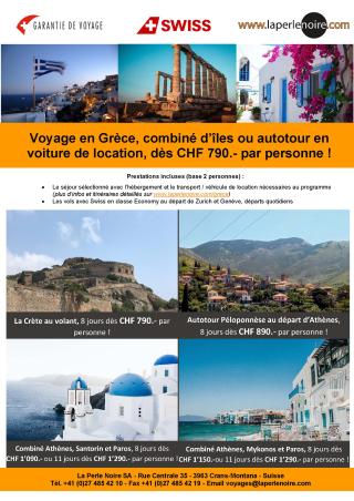 Flyer Grèce