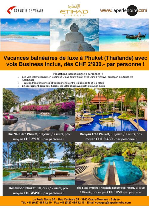Flyer Phuket Business