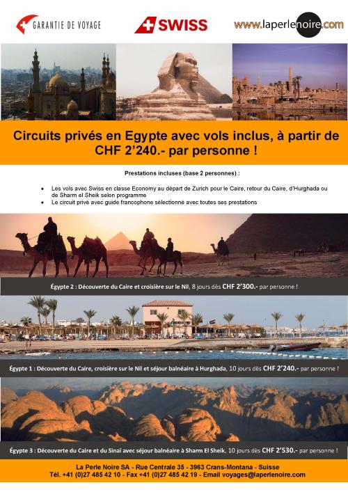 Flyer Egypte