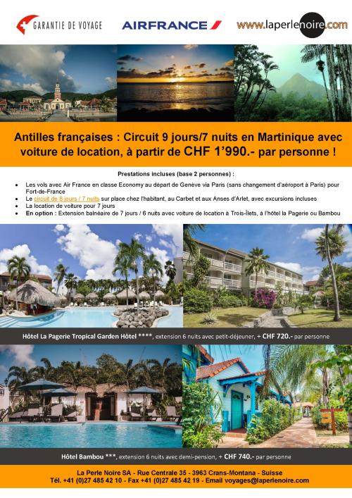 Flyer Martinique
