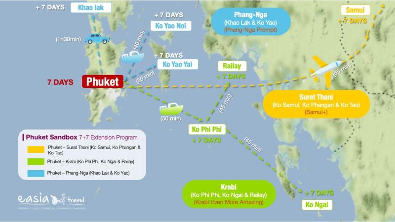 Phuket SANDBOX - Carte