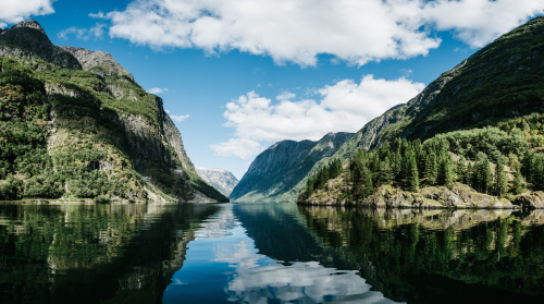 Gudvangen, Norvège