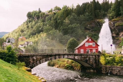 Steinsdalsfossen, Norvège